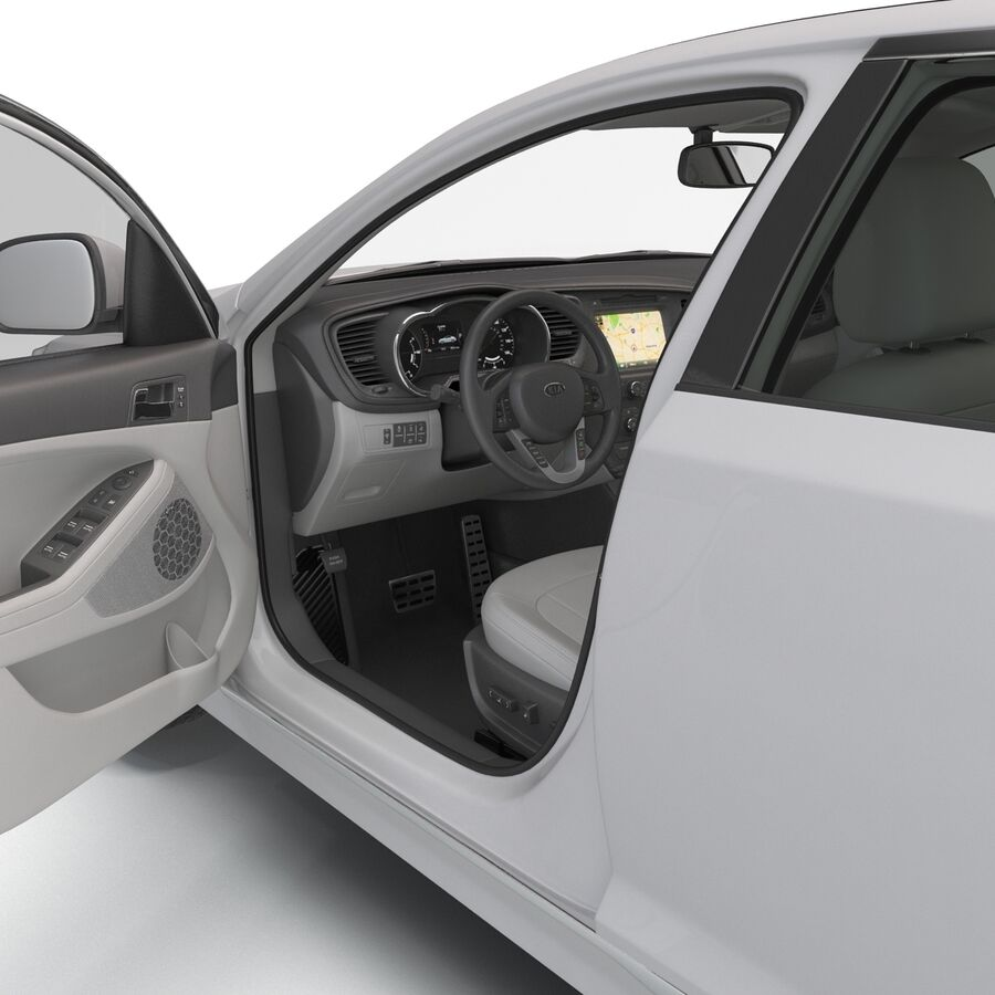 Kia Optima 2014 manipuliert royalty-free 3d model - Preview no. 50