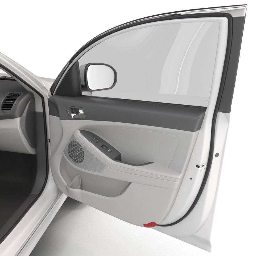 Kia Optima 2014 manipuliert royalty-free 3d model - Preview no. 62