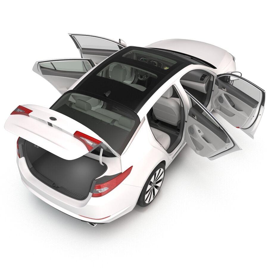 Kia Optima 2014 manipuliert royalty-free 3d model - Preview no. 37