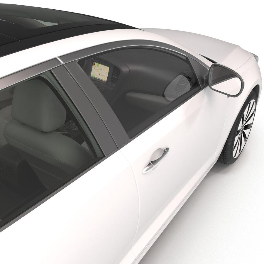 Kia Optima 2014 manipuliert royalty-free 3d model - Preview no. 59