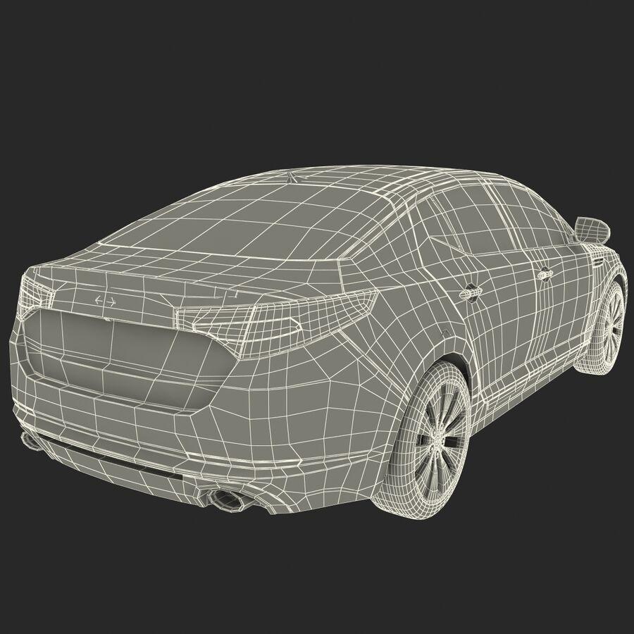 Kia Optima 2014 manipuliert royalty-free 3d model - Preview no. 98
