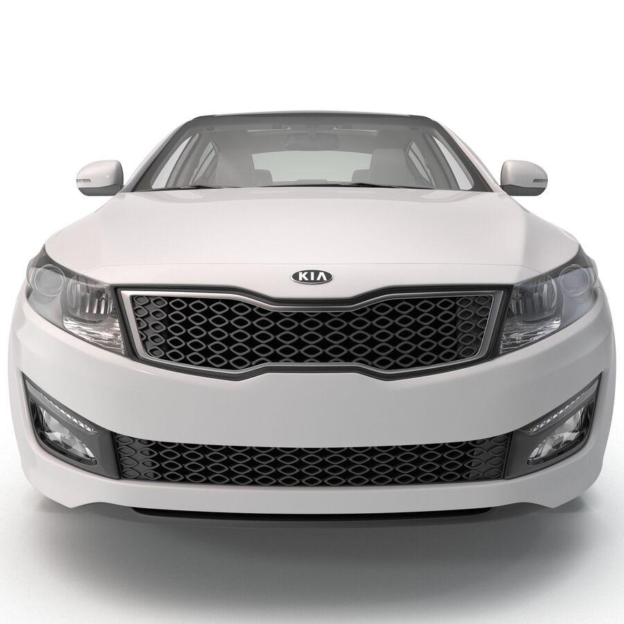 Kia Optima 2014 manipuliert royalty-free 3d model - Preview no. 3