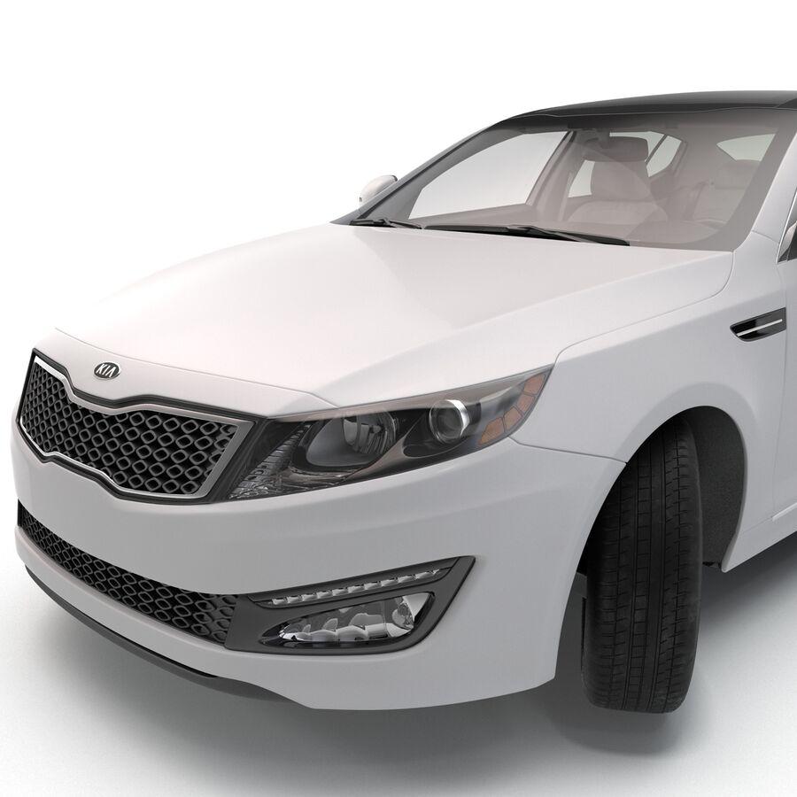Kia Optima 2014 manipuliert royalty-free 3d model - Preview no. 52