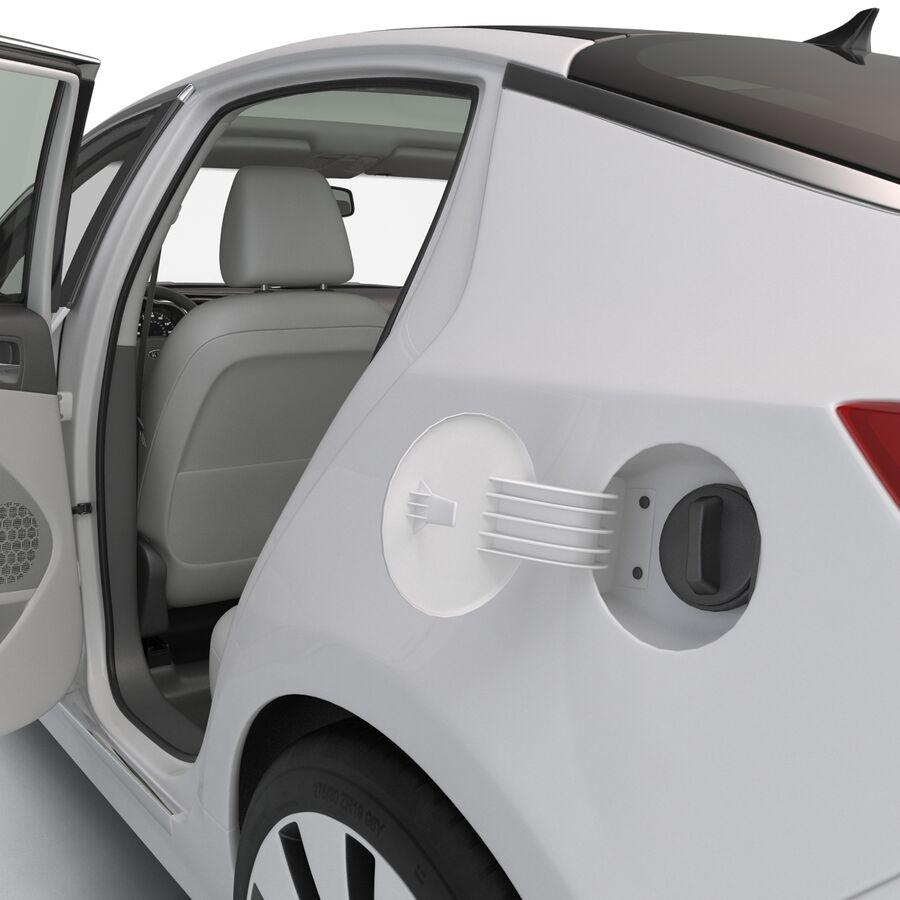 Kia Optima 2014 manipuliert royalty-free 3d model - Preview no. 48