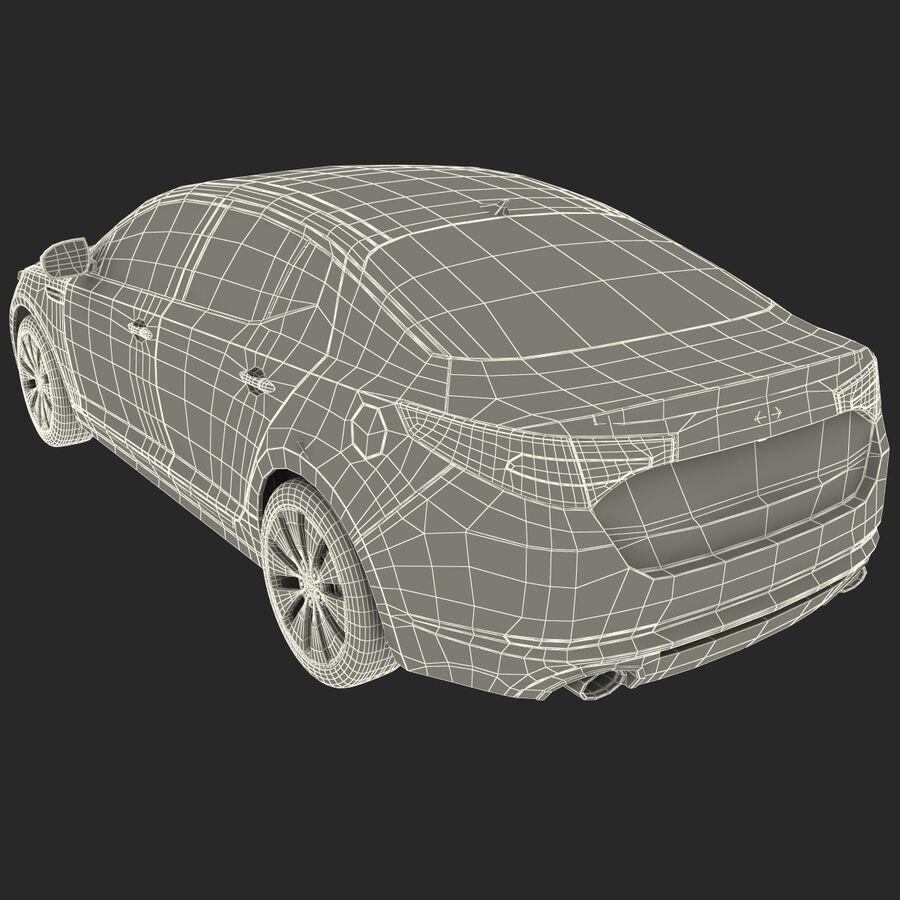 Kia Optima 2014 manipuliert royalty-free 3d model - Preview no. 100