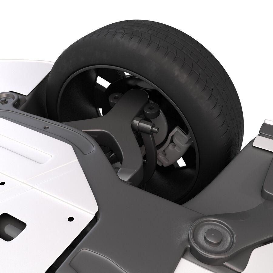 Kia Optima 2014 manipuliert royalty-free 3d model - Preview no. 23