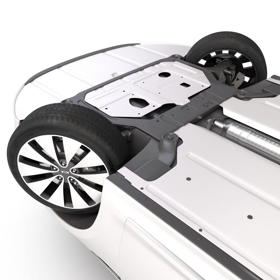Kia Optima 2014 manipuliert royalty-free 3d model - Preview no. 22