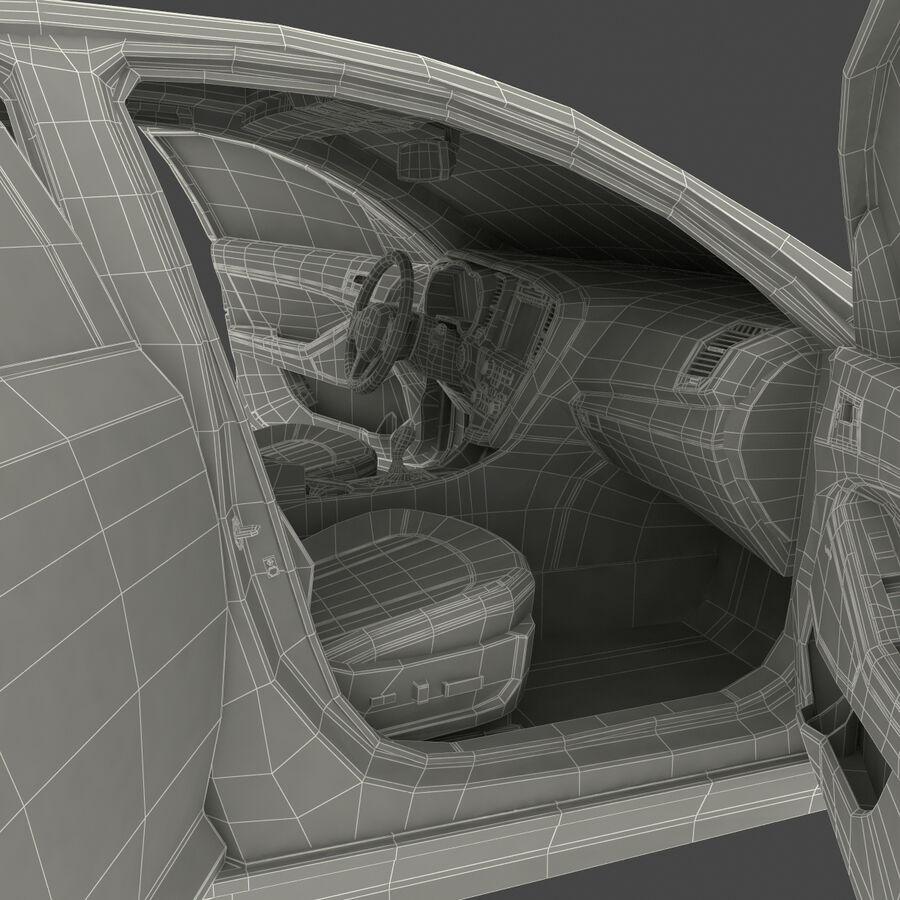 Kia Optima 2014 manipuliert royalty-free 3d model - Preview no. 111