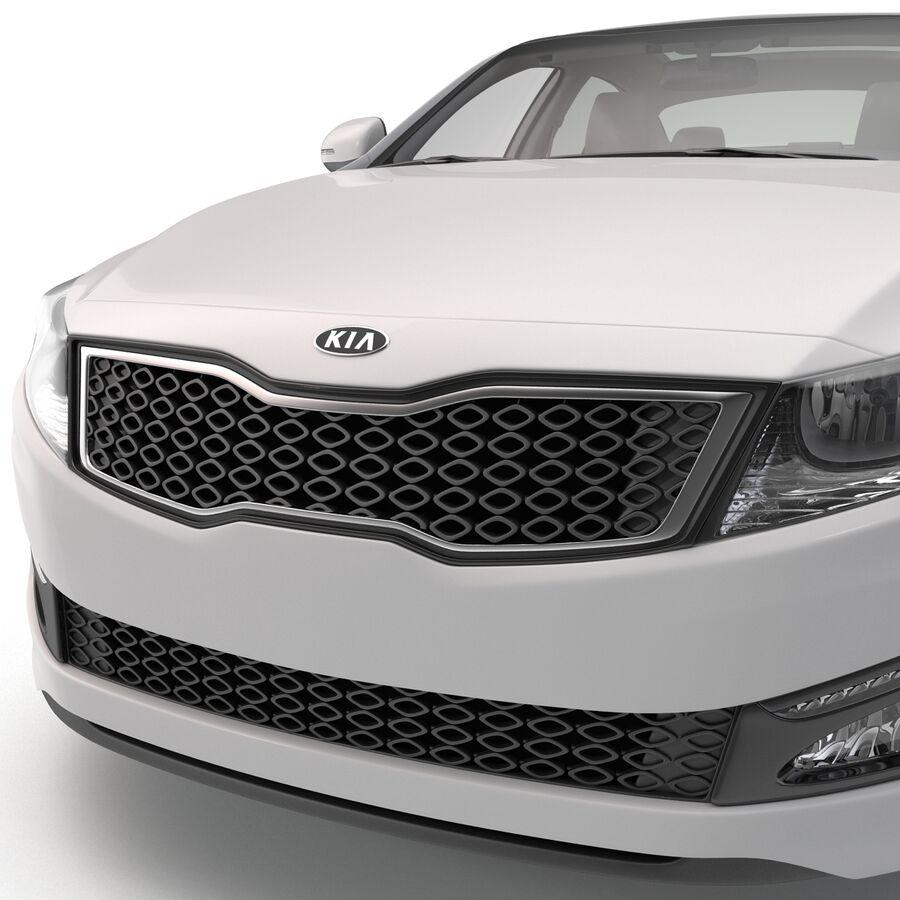 Kia Optima 2014 manipuliert royalty-free 3d model - Preview no. 54
