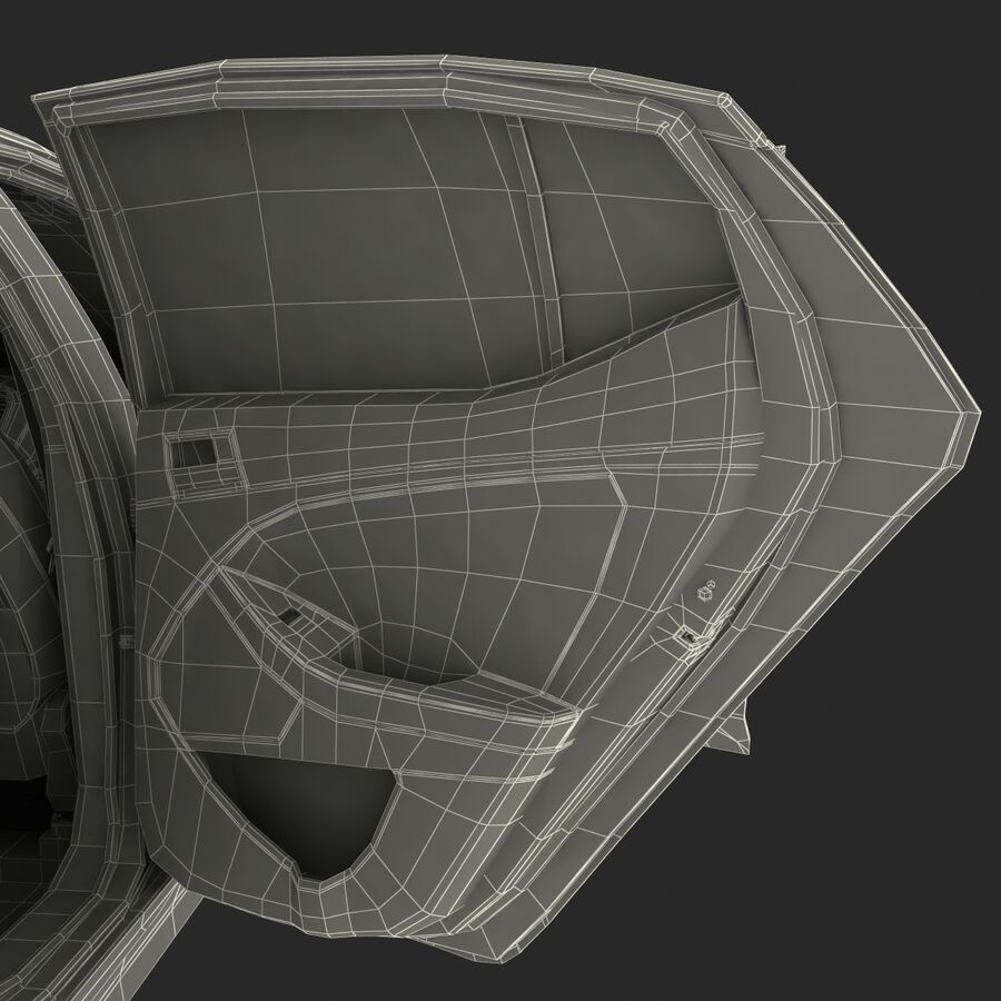 Kia Optima 2014 manipuliert royalty-free 3d model - Preview no. 108