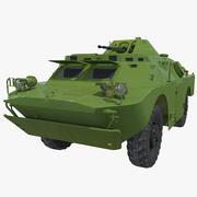 Бронеавтомобиль БРДМ-2 3d model