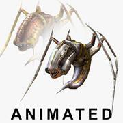 Wasp Monster (2 текстуры) 3d model
