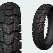 moto tire 3d model