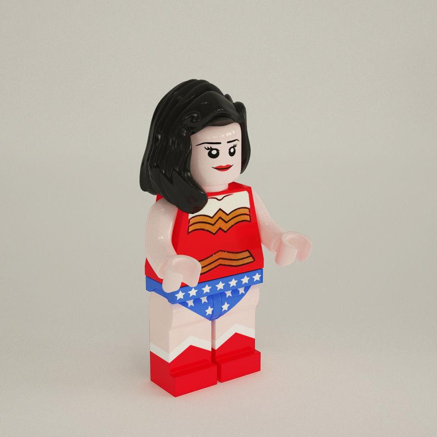 Wonder Woman royalty-free 3d model - Preview no. 2