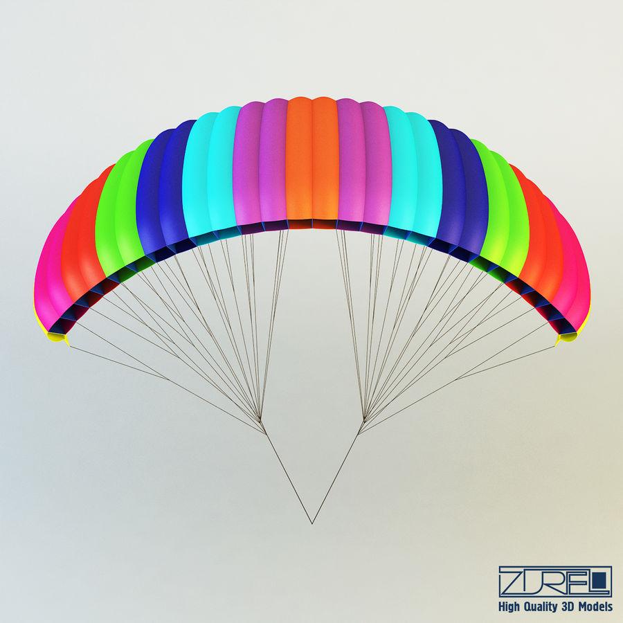 Paraglider v 1 royalty-free 3d model - Preview no. 5