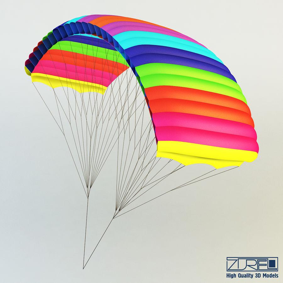 Paraglider v 1 royalty-free 3d model - Preview no. 1