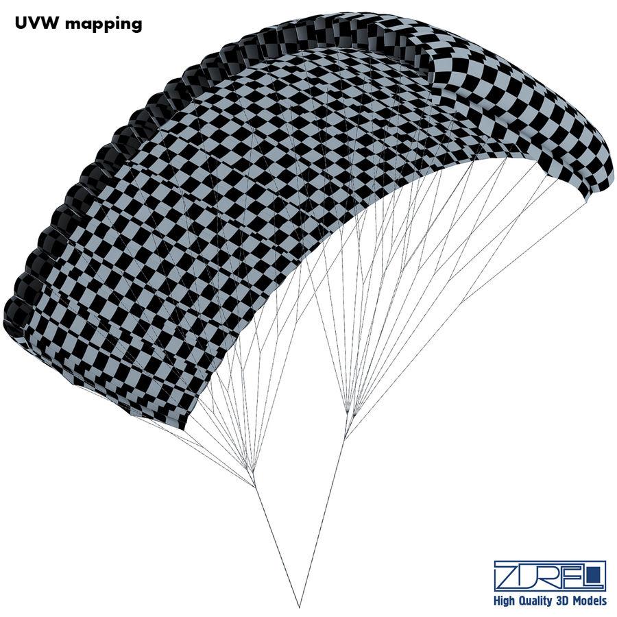 Paraglider v 1 royalty-free 3d model - Preview no. 18