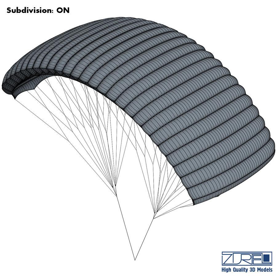 Paraglider v 1 royalty-free 3d model - Preview no. 12