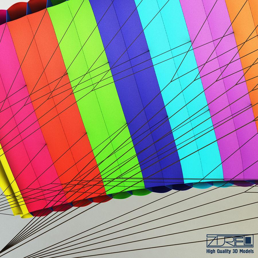 Paraglider v 1 royalty-free 3d model - Preview no. 9