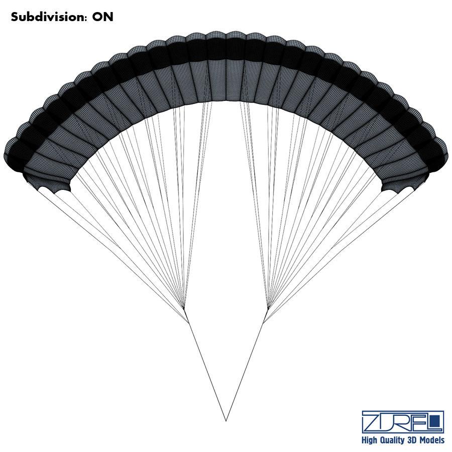 Paraglider v 1 royalty-free 3d model - Preview no. 10
