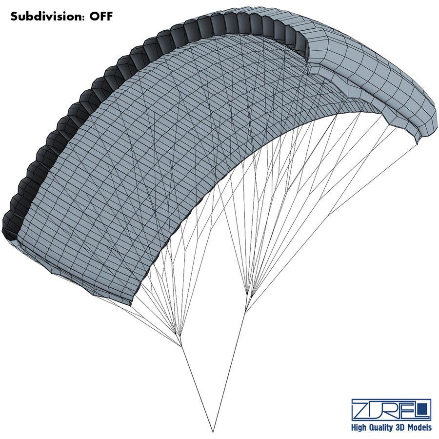 Paraglider v 1 royalty-free 3d model - Preview no. 15