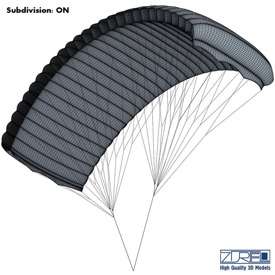 Paraglider v 1 royalty-free 3d model - Preview no. 14