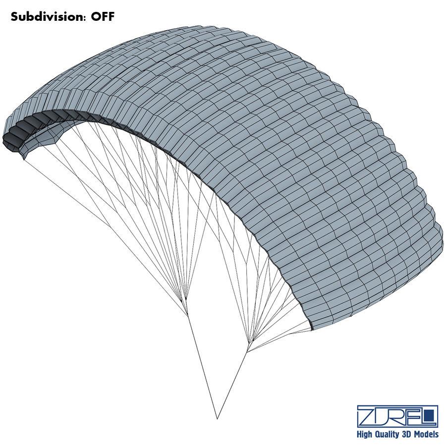 Paraglider v 1 royalty-free 3d model - Preview no. 13