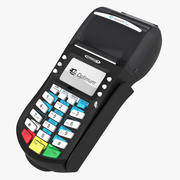POS Terminal HYPERCOM OPTIMUM T4210 3d model