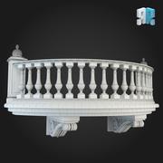 Balcony 011 3d model