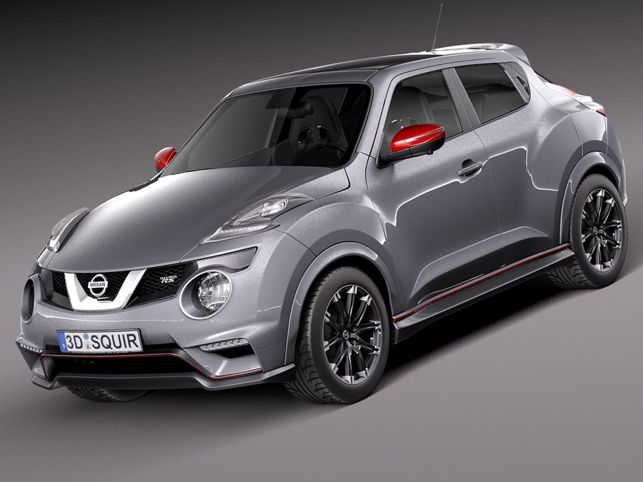 Nissan Juke Nismo RS 2015 royalty-free 3d model - Preview no. 1
