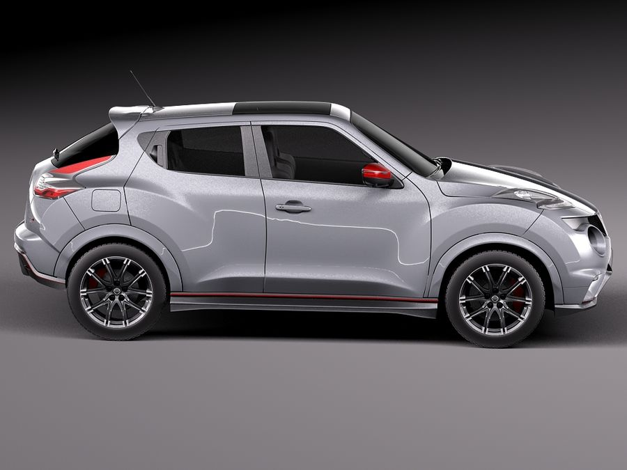 Nissan Juke Nismo RS 2015 royalty-free 3d model - Preview no. 7
