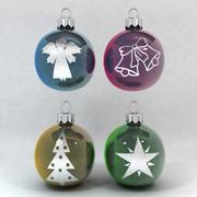 圣诞摆设装饰品 3d model