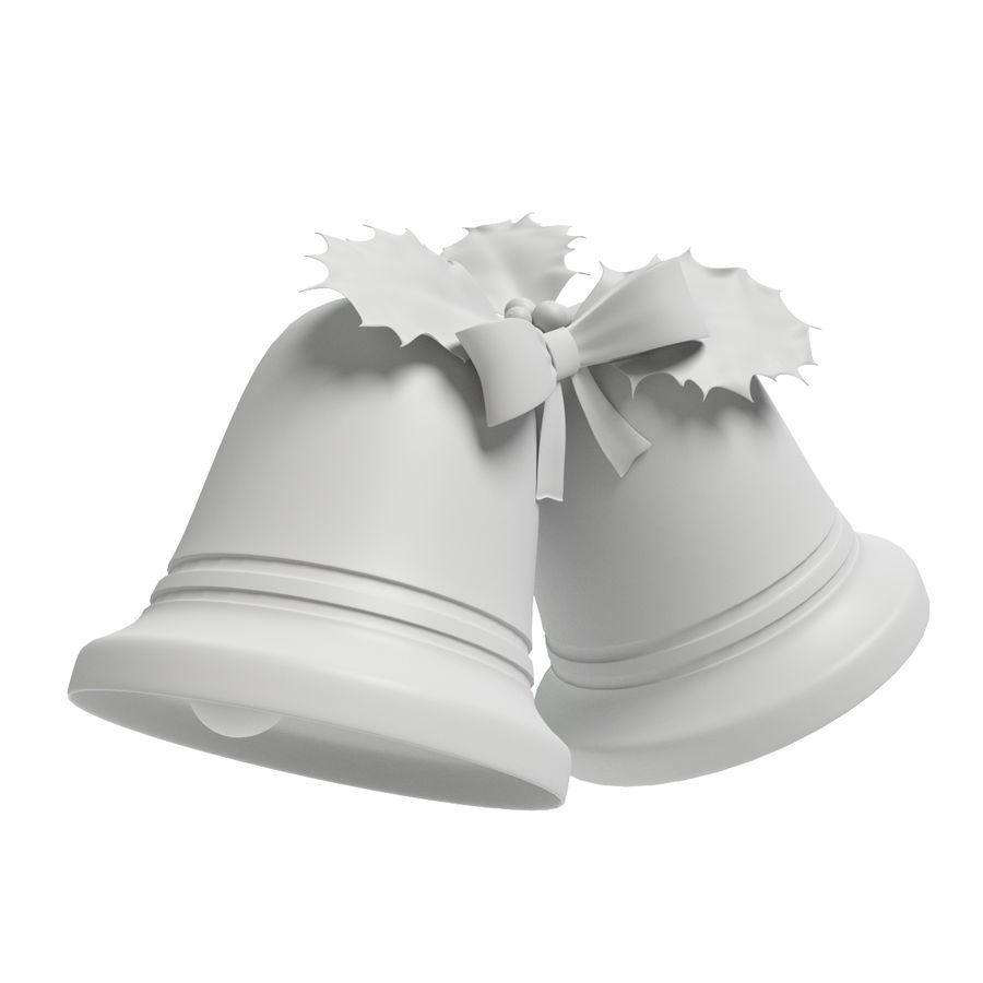 Campanas de navidad royalty-free modelo 3d - Preview no. 6