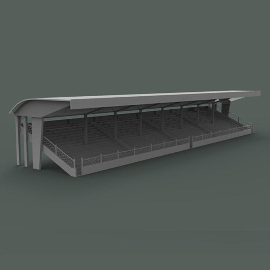 Bleachers royalty-free 3d model - Preview no. 2