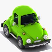 Cartoon Car 4 3d model