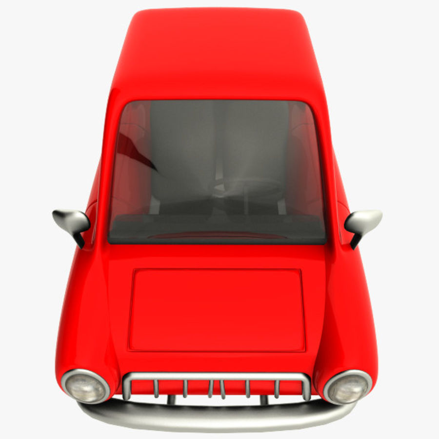 tecknade bil royalty-free 3d model - Preview no. 8