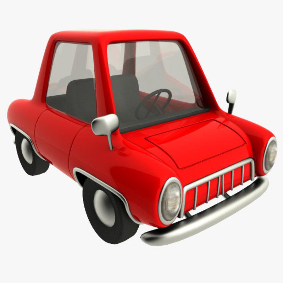 tecknade bil royalty-free 3d model - Preview no. 1