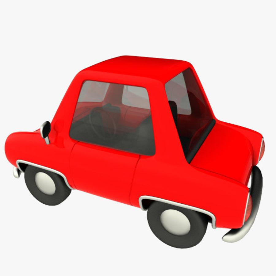 tecknade bil royalty-free 3d model - Preview no. 6