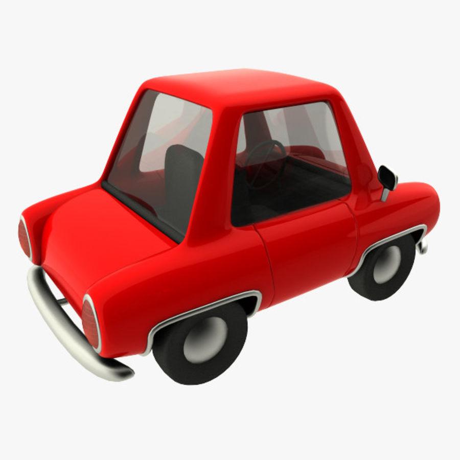 tecknade bil royalty-free 3d model - Preview no. 3