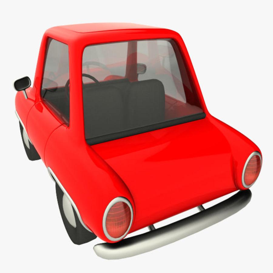 tecknade bil royalty-free 3d model - Preview no. 5