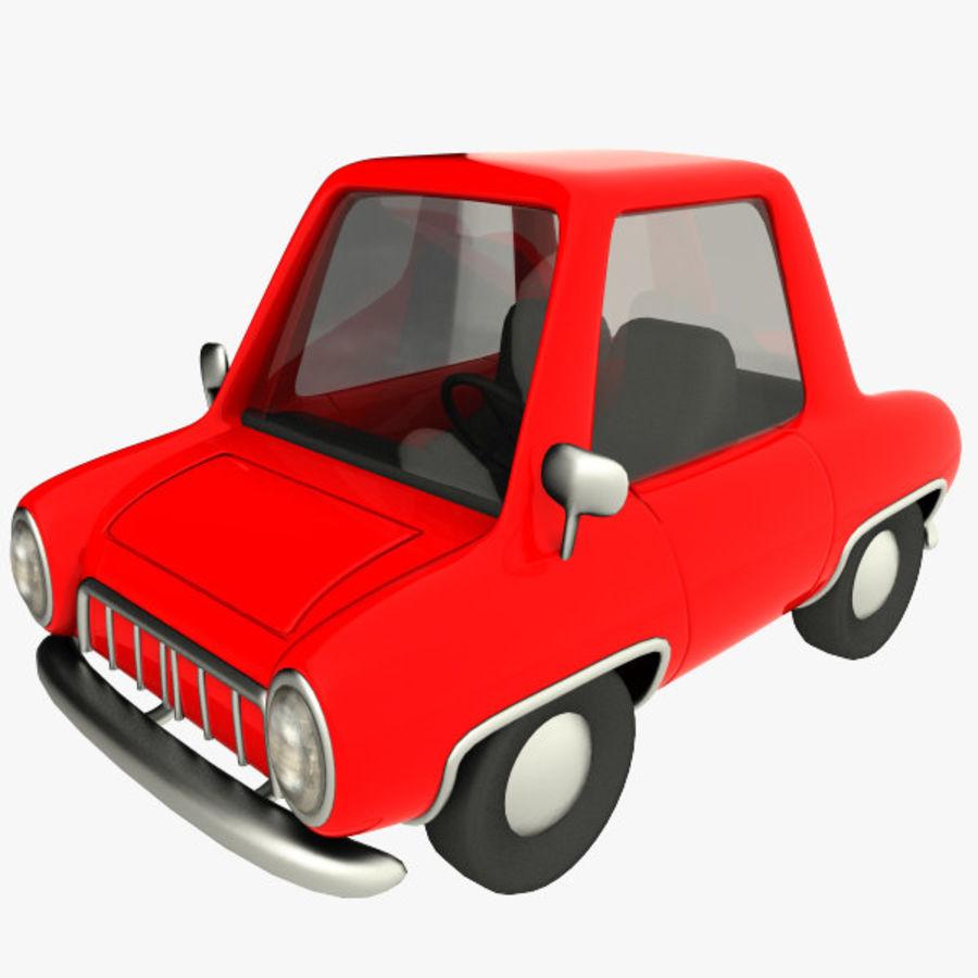 tecknade bil royalty-free 3d model - Preview no. 7