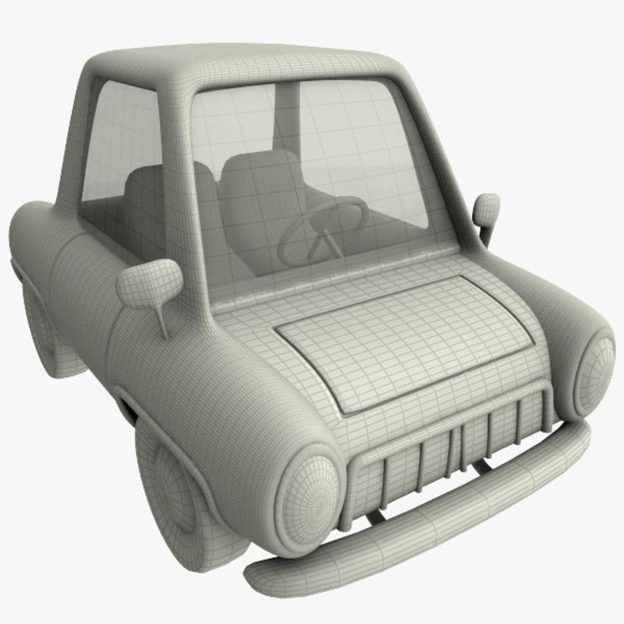 tecknade bil royalty-free 3d model - Preview no. 9