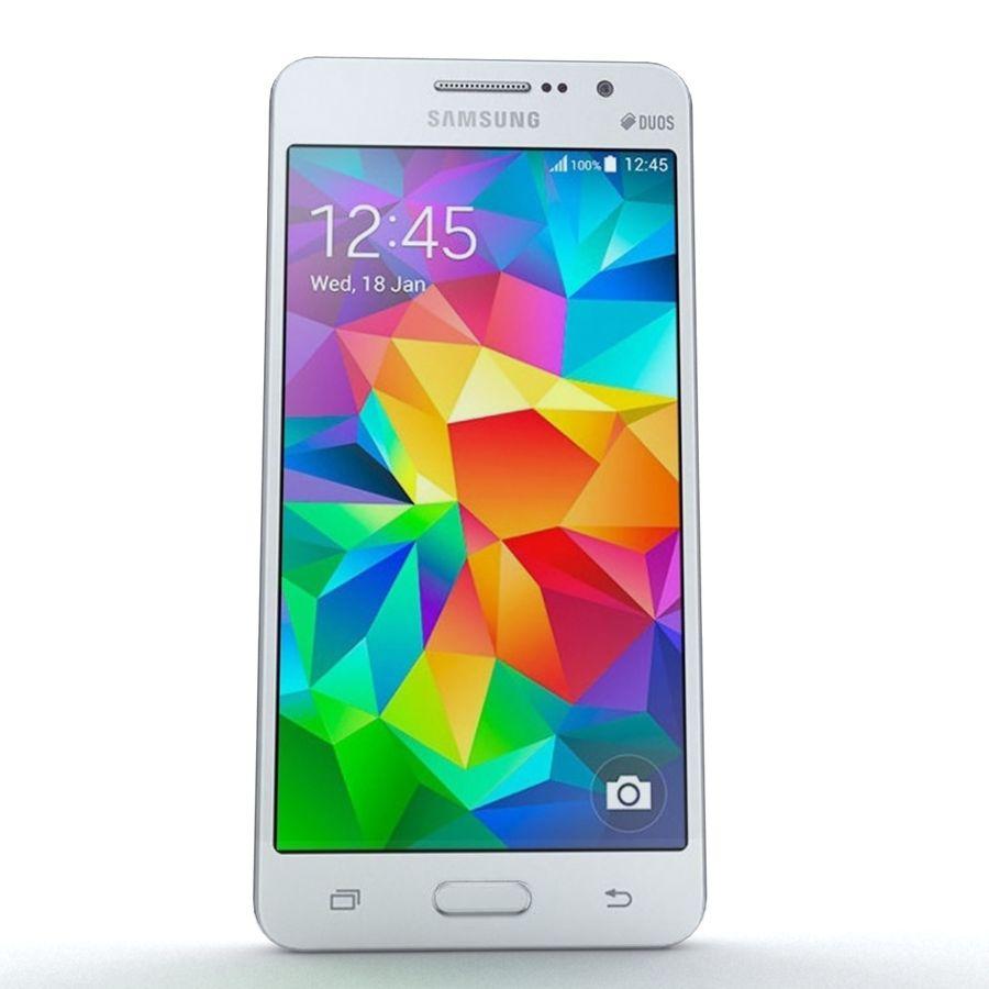 三星Galaxy Grand Prime royalty-free 3d model - Preview no. 3