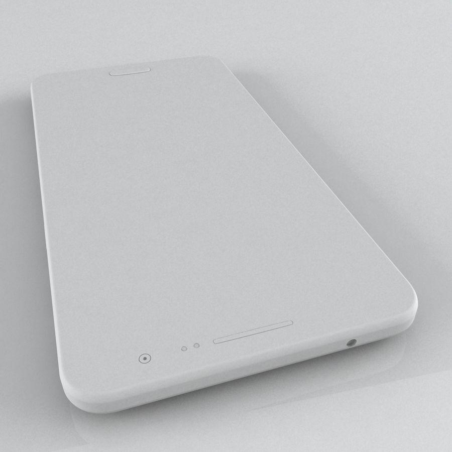 三星Galaxy Grand Prime royalty-free 3d model - Preview no. 12