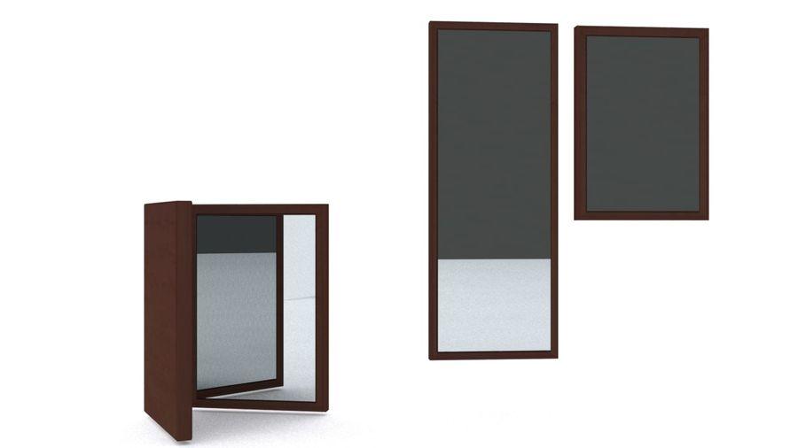 IKEA HEMNES Aynalar royalty-free 3d model - Preview no. 4