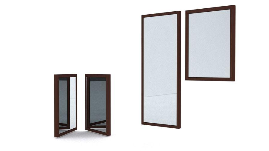 IKEA HEMNES Aynalar royalty-free 3d model - Preview no. 3