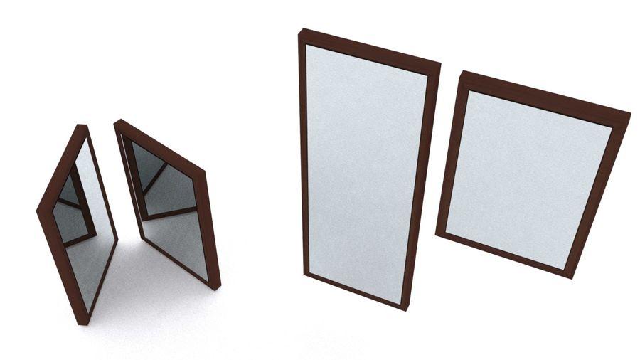 IKEA HEMNES Aynalar royalty-free 3d model - Preview no. 5