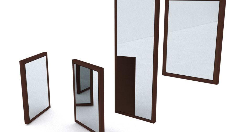 IKEA HEMNES Aynalar royalty-free 3d model - Preview no. 1