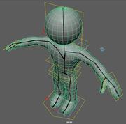 3D Simple Guy 3d model