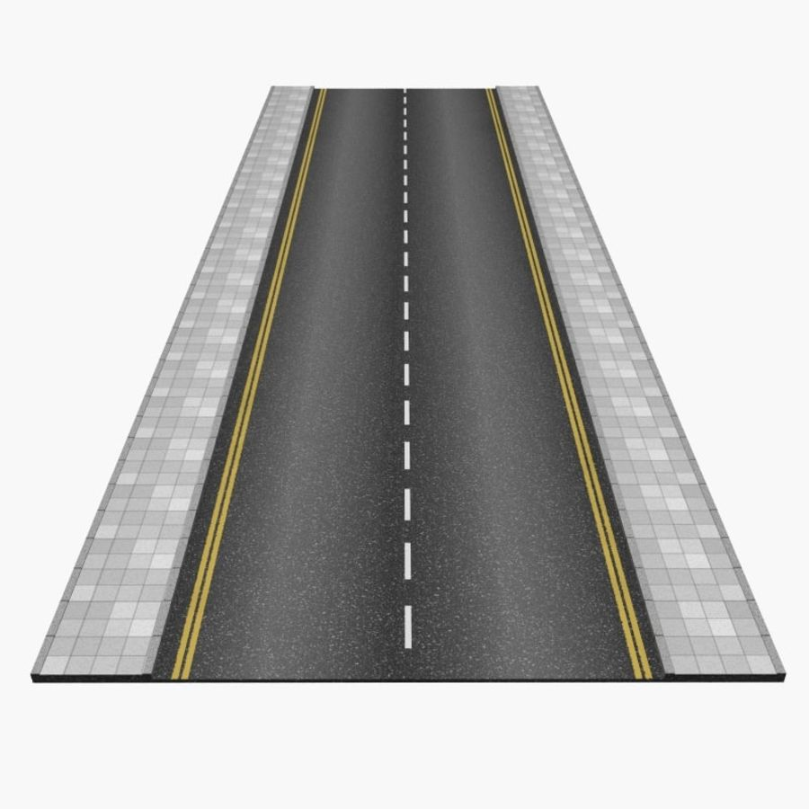 Interactive Roads royalty-free 3d model - Preview no. 2
